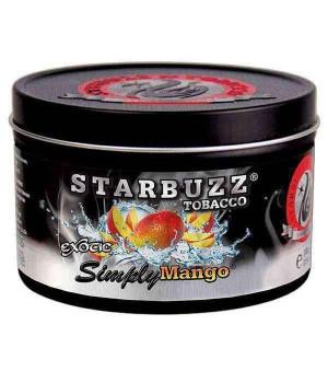 Табак Starbuzz Simply Mango (Манго) 250гр