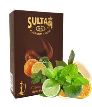 Табак Sultan Citrus Mint (Цитрус Мята) 50 гр