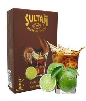 Табак Sultan Cola Lime (Кола с Лаймом) 50 гр
