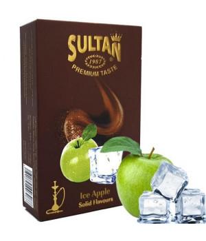 Табак Sultan Ice Apple (Яблоко Лед) 50 гр