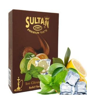 Табак Sultan Ice Citrus Mint (Цитрус Мята Лед) 50 гр