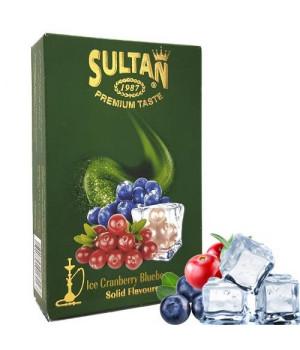Табак Sultan Ice Cranberry Blueberry (Клюква Черника Лед) 50 гр