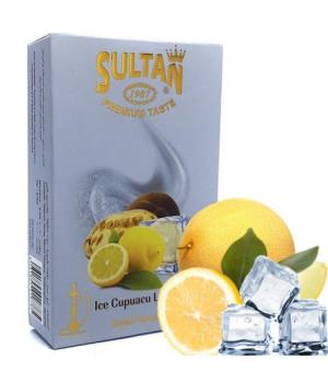 Табак Sultan Ice Cupuacu Lemon (Лед Купуачу Лимон) 50 гр
