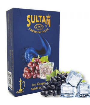Табак Sultan Ice Grape (Виноград Лед) 50 гр
