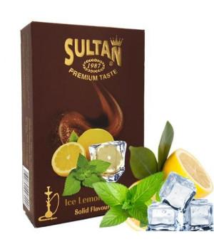 Табак Sultan Ice Lemon Mint (Лимон Мята Лед) 50 гр