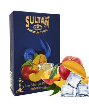 Табак Sultan Ice Mango Peach (Манго Персик Лед) 50 гр