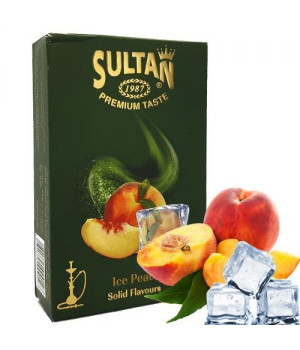 Табак Sultan Ice Peach (Персик Лед) 50 гр