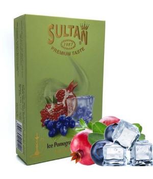 Табак Sultan Ice Pomegranate Blueberry (Гранат Черника Лед) 50 гр