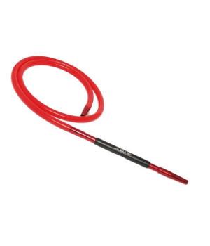 Шланг Силиконовый Amy Deluxe c Резиновой Вставкой (Красный)