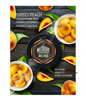 Табак Must Have Sweet Peach (Персик) 25 гр.